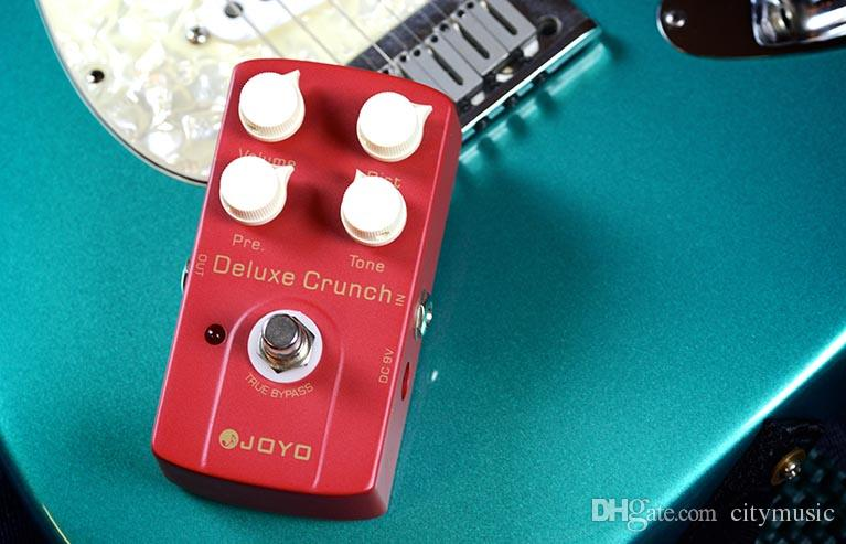 JOYO JF-39 Deluxe Crunch Electric Guitarra Violao Guitar Effect Distortion Pedal True Bypass Design Musical Instrument Parts I289