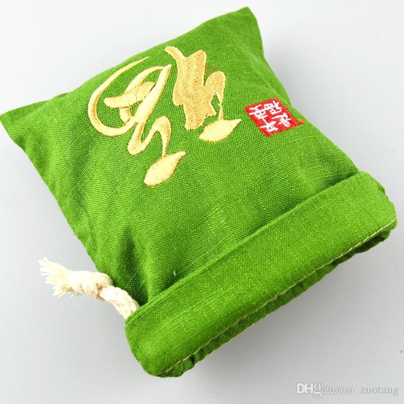 الصينية فو الصغيرة الكبيرة القطن الكتان حزب هدية حقائب مجوهرات حزمة الحقائب جودة عالية الرباط القماش التغليف حقيبة التخزين الزخرفية