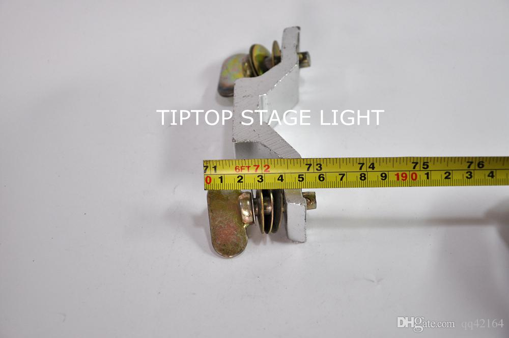 TIPTOP 21A En Aluminium Allay Crochet Led Tête Mobile Lumière De Montage De Fixation Pas 106mm Charge 50kg DJ Disco Stage Theatrer