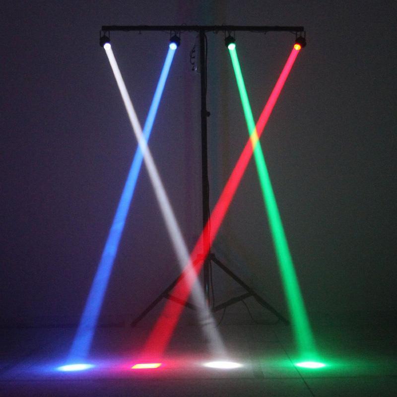 New Hot Led Rgbw Dmx Ambient Dj Stage Lighting 3 Watt Led Pin Spot Projection Lighting Rgbw Stage Lighting Eu Plug Orderu0026Lt;$18no Trac Laser Lights For ... & New Hot Led Rgbw Dmx Ambient Dj Stage Lighting 3 Watt Led Pin Spot ...