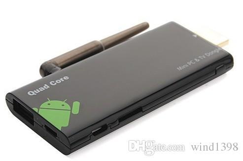 Vendita calda CX919 android tv box RK3229 quad core 2 GB / 8 GB mini pc tv dongle bluetooth os android 7.1
