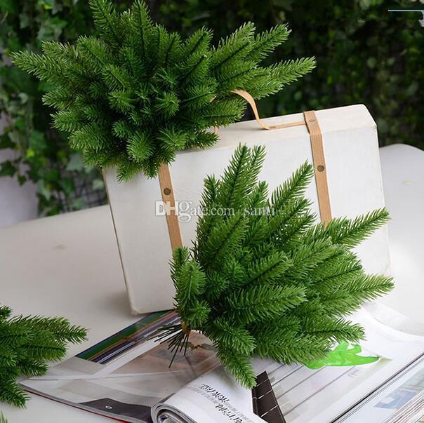 Neue künstliche Weihnachtsbäume dekorative Simulationsanlage Blumenarrangement Zubehör künstlich