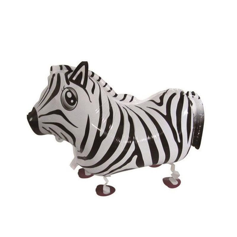 Walking Animal Balloon Toy For Children Birthday Party Decoration Dog/Horse/Panda Foil Balloons Classic Toys ZA1242