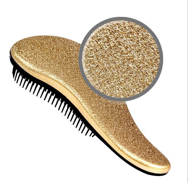 Fashion Combs Hot Stamping Anti-Static Hair Brush ABS Magic Hair Brushes Salon Elite Tangle Brush TT Hair Combs For Women Ladies