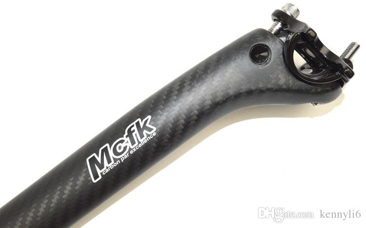 Mcfk full carbon fiber road bicycle seatpost mountain cycling parts bike seat post 27.2 30.8 31.6mm x 350 or 400mm offset 20mm