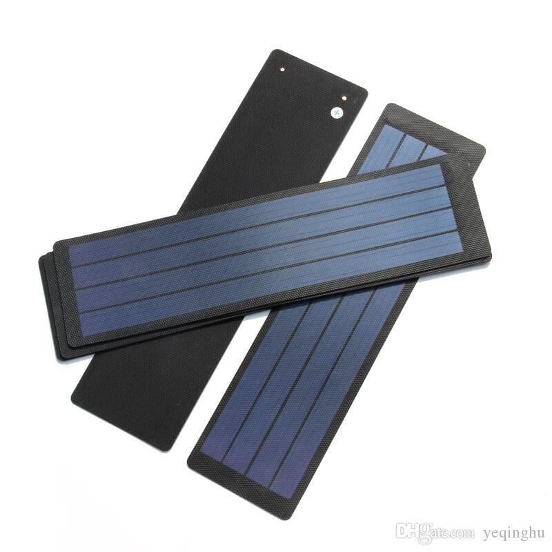 BUHESHUI 2 W 6 V Dobrável Células Solares / Painel Solar Para DIY Carregador de Telefone + Filme Flexível À Prova D 'Água Atacado Frete grátis