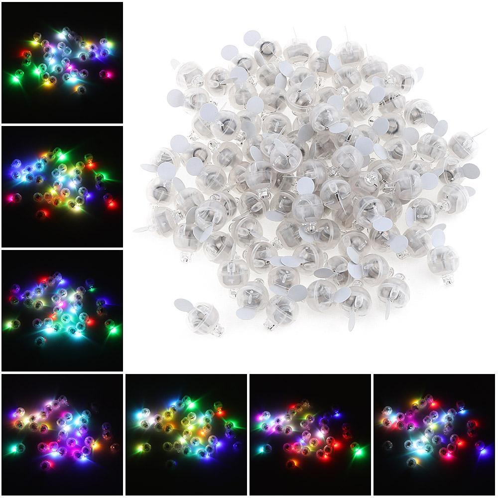 Wholesale- Mini Colorful Round with And RGB Flash Put in Paper ...