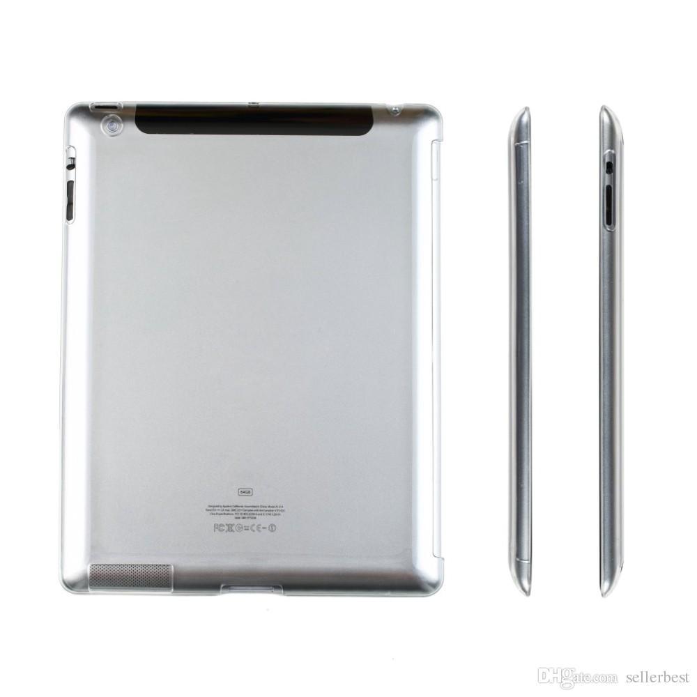 Stilvolle klare transparente PC-harte rückseitige schützende Fall-Abdeckung für iPad 2 3 4