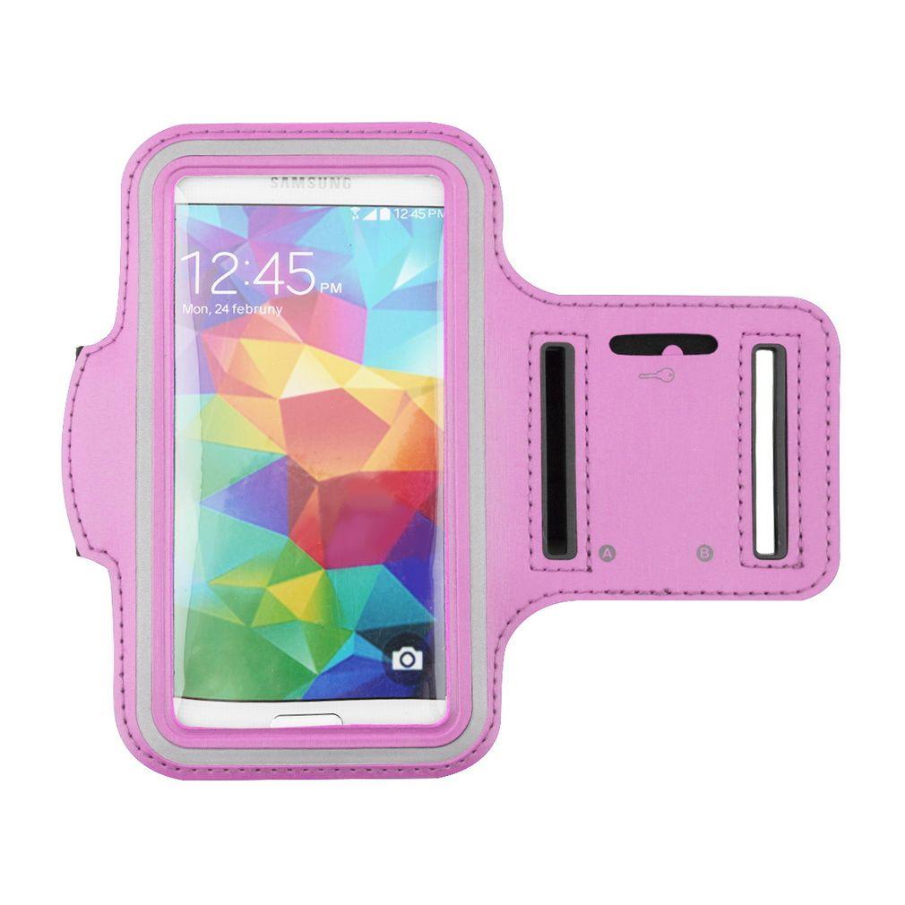Einstellbare Running SPORT GYM Tasche Fall Arm Band für Samsung Galaxy S5 S6 S7 EDGE iPhone 5 6 Plus 6S LG wasserdichte Jogging-Handy-Abdeckung