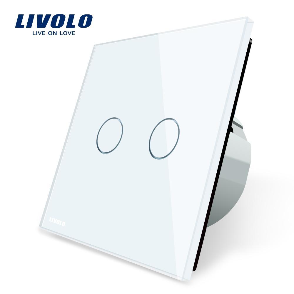 Großhandel Livolo 2 Gang 1 Wege Wand Touch Schalter, Weiße ...