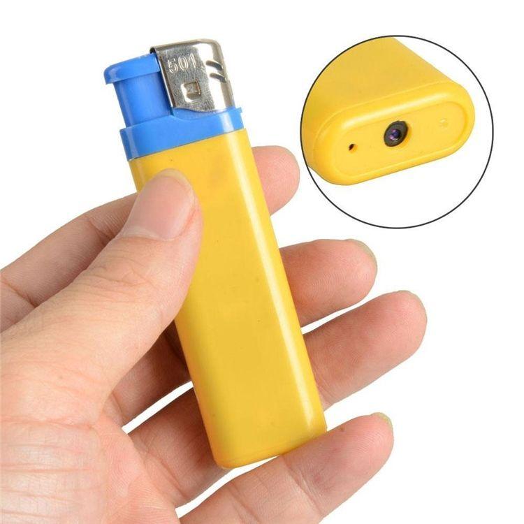 Portable Mini Briquet DVR Caméscope Vidéo Audio Enregistreur Mini DV DVR Mini Briquet Caméra de Surveillance de Sécurité Caméscope DVR