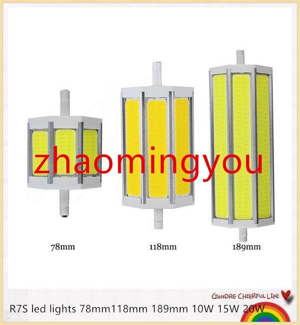 R7s Cob Led Bulb Dimmable R7s Led Lights 78mm118mm 189mm 10w 15w 20w