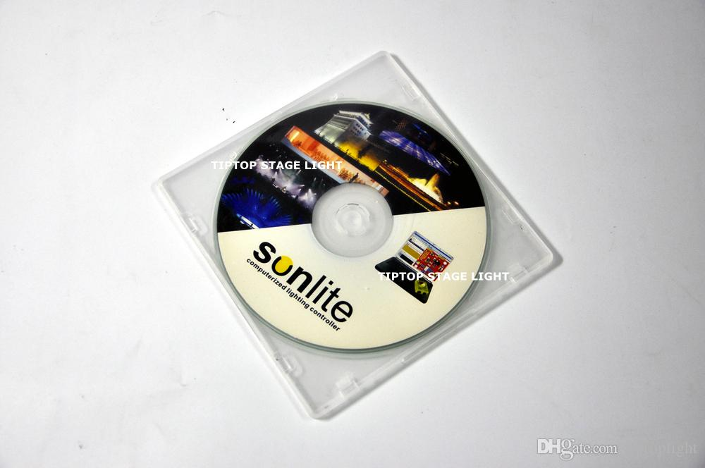 TP-D11 100% Real Version Sunlite 1024 USB DMX512 Controller Support Windows XP SUNLITE DMX Lighting Hi-Quality USB Control Stage Light