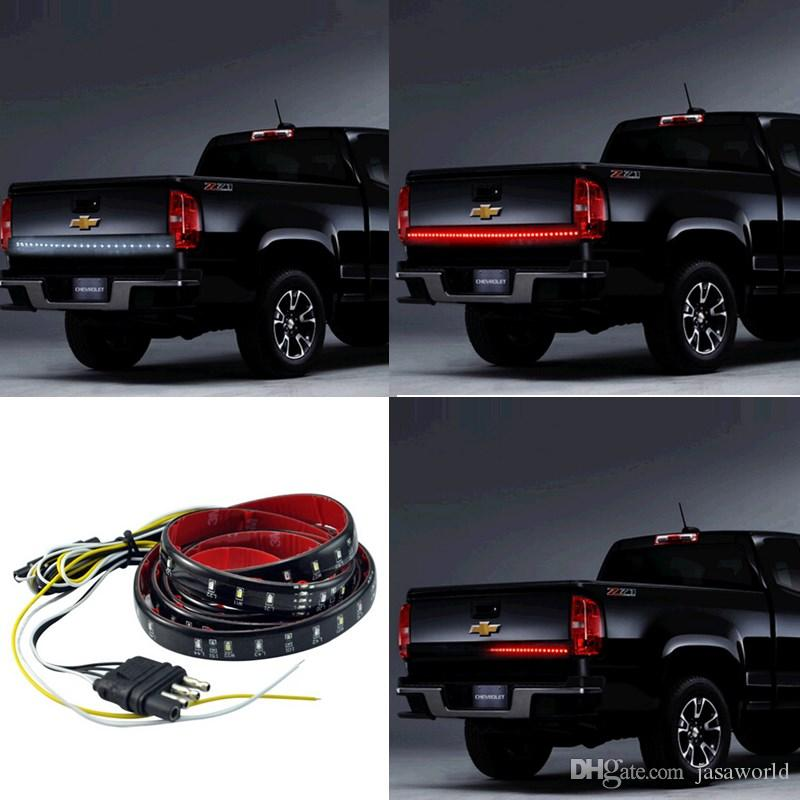 2018 universal 60 truck suv tailgate light bar led redwhite reverse 2018 universal 60 truck suv tailgate light bar led redwhite reverse stop running turn signal light led light strip car accessories from jasaworld aloadofball