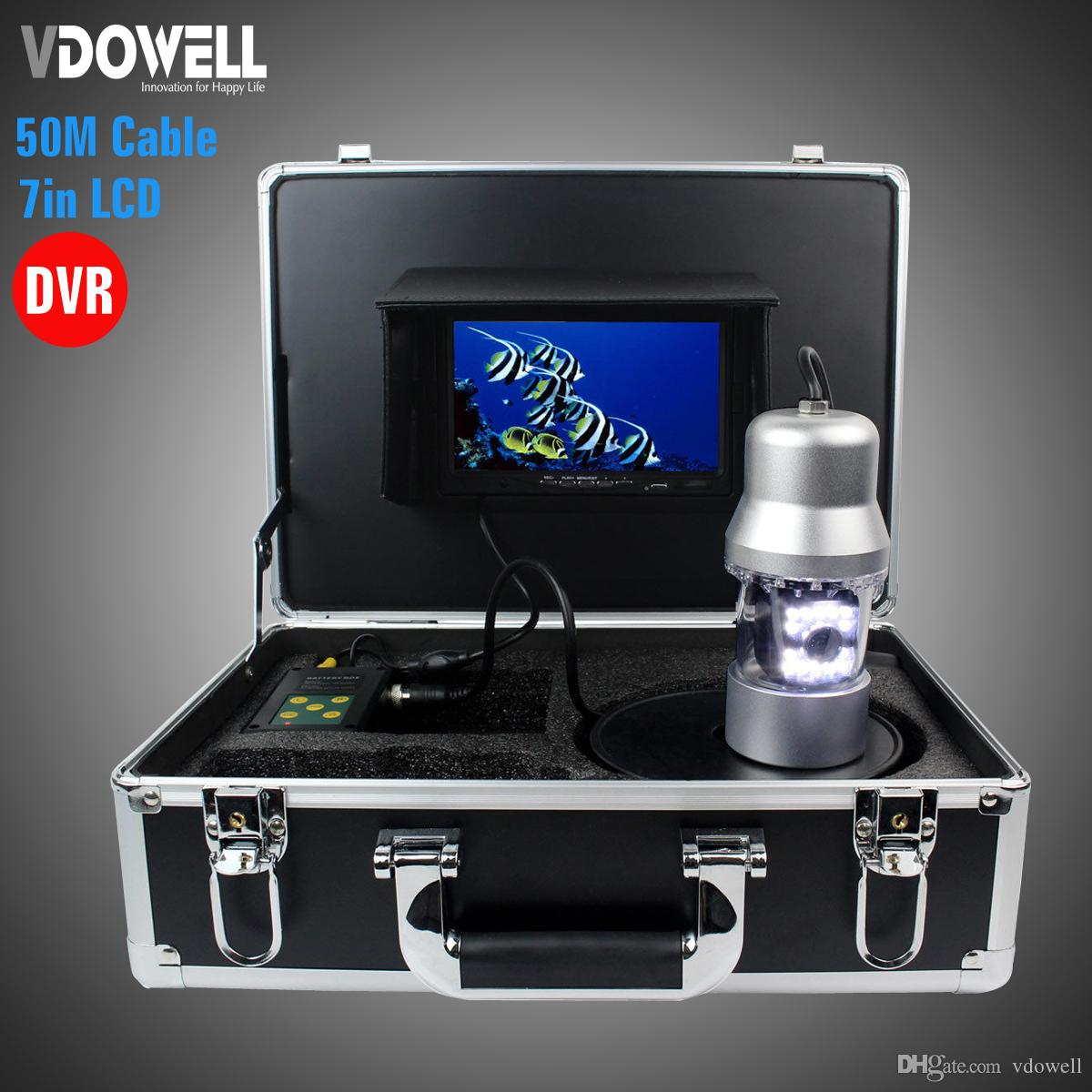 2018 50m Cable 1000tvl Upgrade Professional Metal Case Underwater ...