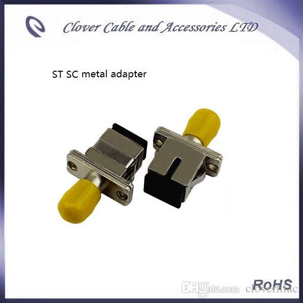 Bonne qualité et conforme à la directive RoHS ST-SC - connecteur de l'adaptateur de fibre optique
