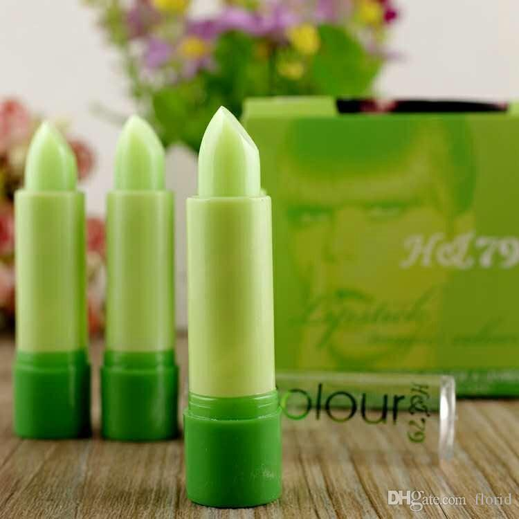 Best Green Change Color To Red Lipstick Magic Color Temperature Change Color Super Stay Lipstick Moisture Anti-aging Protection Lip Balm
