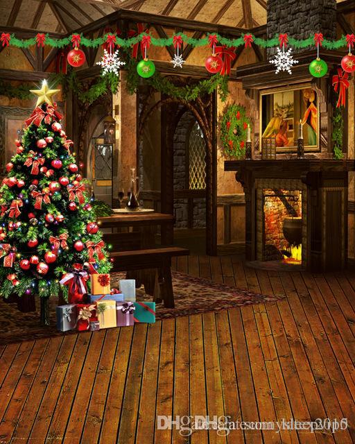 5x7ft christmas tree dining room photo studio props christmas backgrounds vinyl backdrops for photography wedding decorations ideas pictures wedding