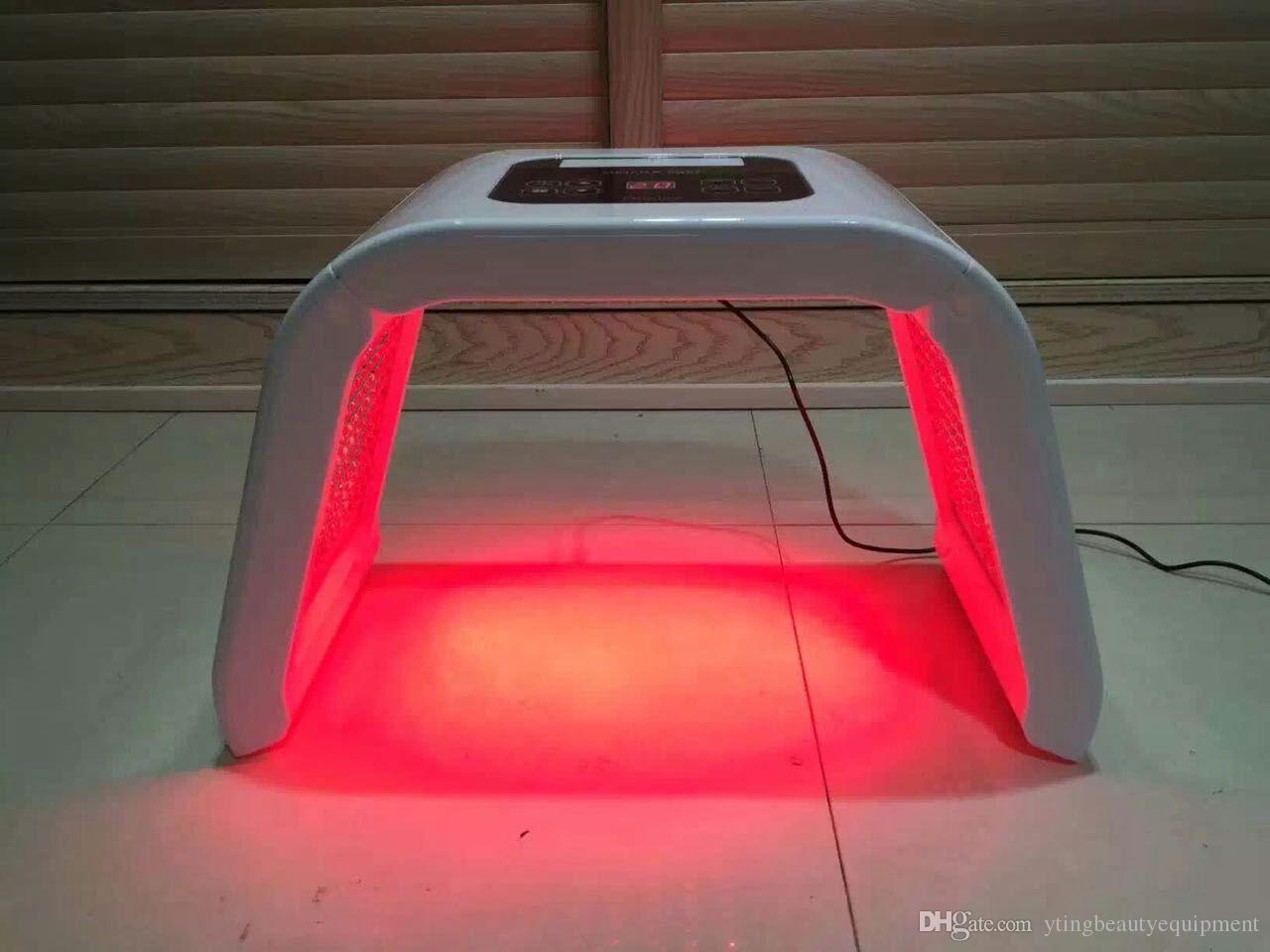 2016 Nova 4 Cores Luz PDT LEVOU Terapia Acne Freckle Remoção Clareamento máquina de beleza photon