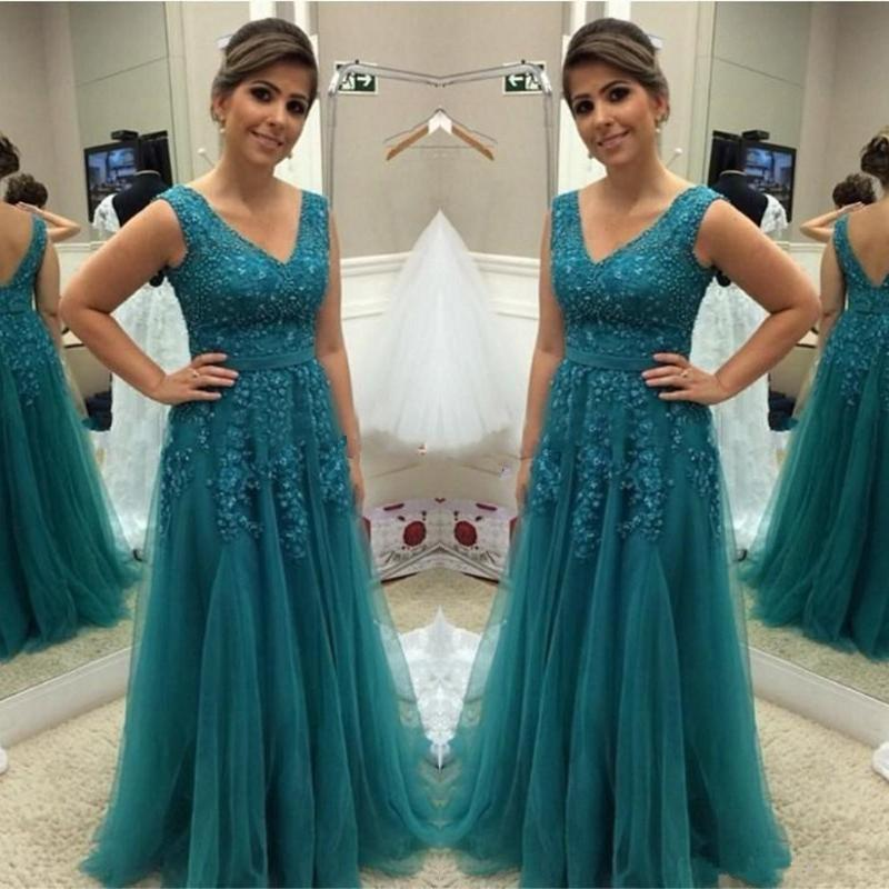 teal dresses for mother of the bride