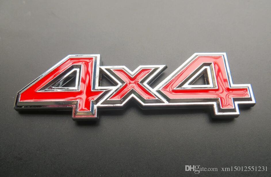 Metal 3D 4x4 Auto Car Sticker 4 Drive Emblem Badge for JEEP Patriot Wrangler Grand Cherokee Compass for Prado Car Styling