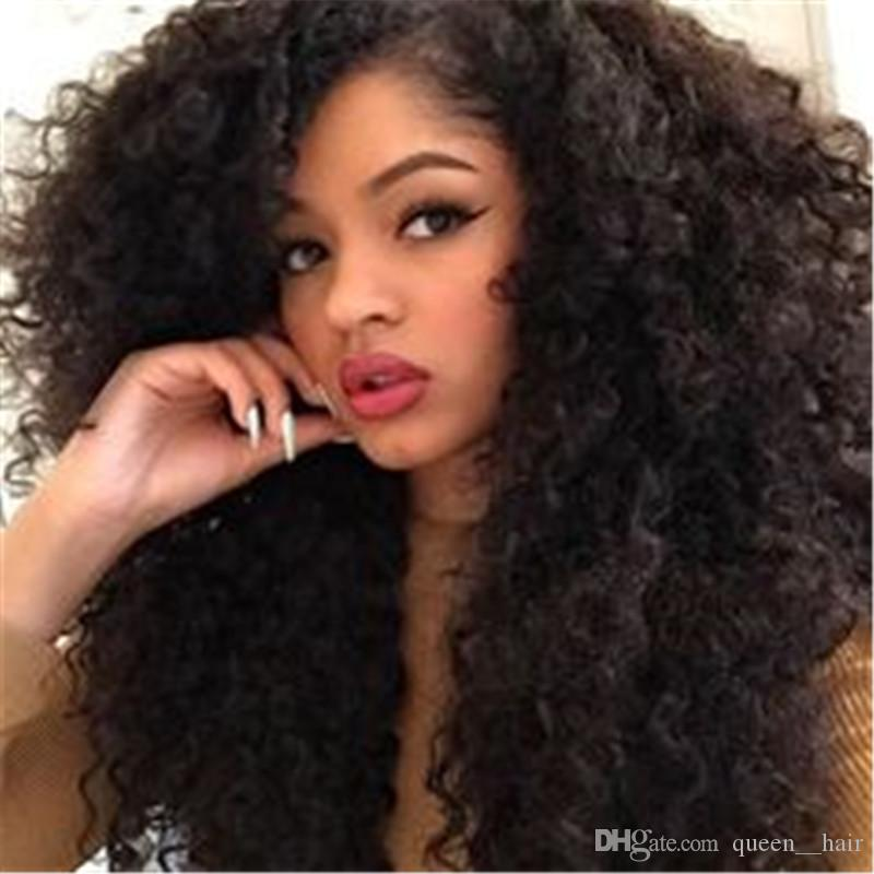 Fabulous Cheap Customized 180 Density Pretty Full Kinky Curly Wig For Short Hairstyles Gunalazisus
