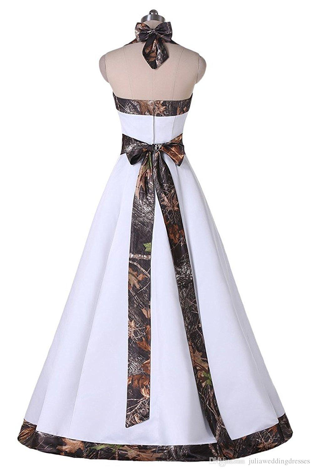2017 New Camo Wedding Dresses Sweetheart Appliques A-Line With Beading Chiffon Plus Size Camouflage Wedding Party Bridal Gowns BW118