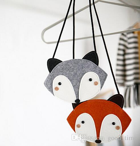 New Baby Cute Fox Bag Kids Purse Handbag Wallet 19*13 Cm Children ...