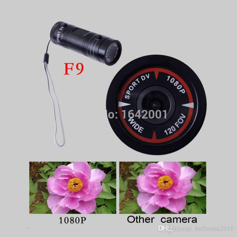2016 Flashlight Sports Video Camera HD 1080P Waterproof Camcorders DV Camcorder mini DV Camcorders For Car DVR Outdoor Bike Helmet