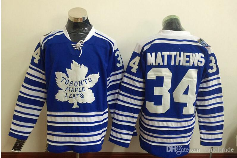 49b3351a2 2019 2016 New Hot Men Toronto maple Leafs 34 Matthews 17 CLARK 93 Gilmour  Blue New Ice Hockey Jerseys NHL Stitched Jerseys Free Drop Shipping Mi From  ...