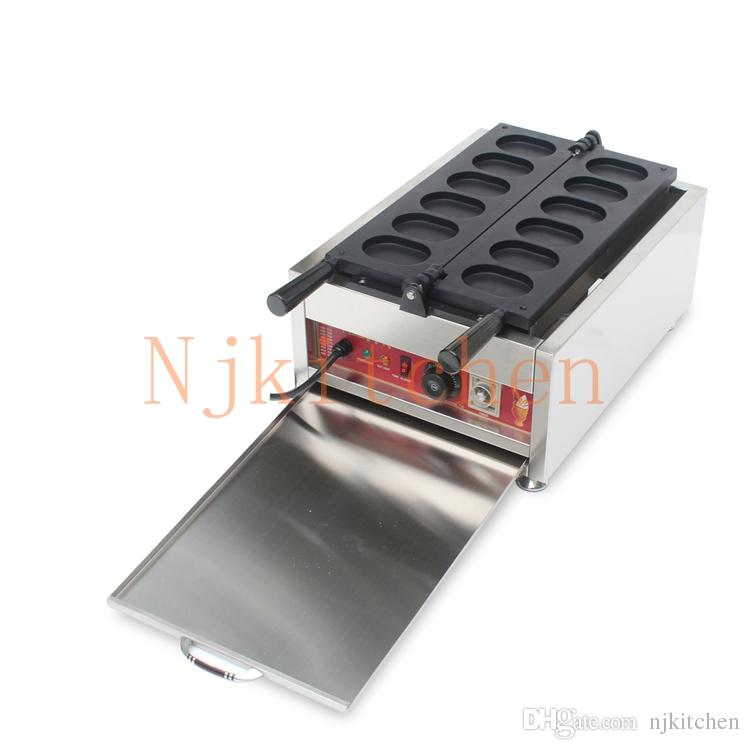 Ücretsiz Kargo 6 adet Kore Ticari Kullanım yapışmaz 110 v 220 v Elektrikli Kore Yumurta Ekmek Makinesi Maker Baker Kalıp Plakası