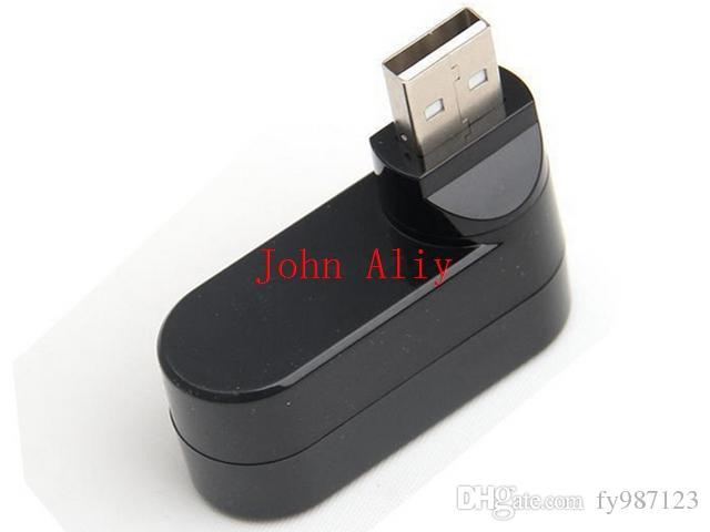 Brand new Mini 3 PORT USB 2.0 Rotate HUB Adapter espansione notebook portatile PC desktop