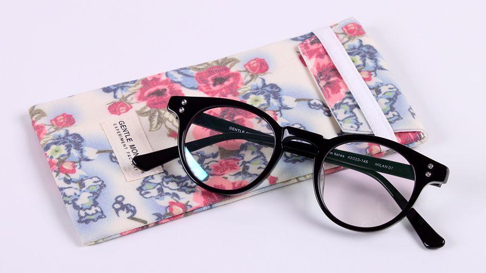 Marca Glasses-2017 Nuevos Hombres Mujeres V marca MILAN 01 gafas marco Hombre de negocios gafas redondas miopía de lectura Óptica marcos de gafas