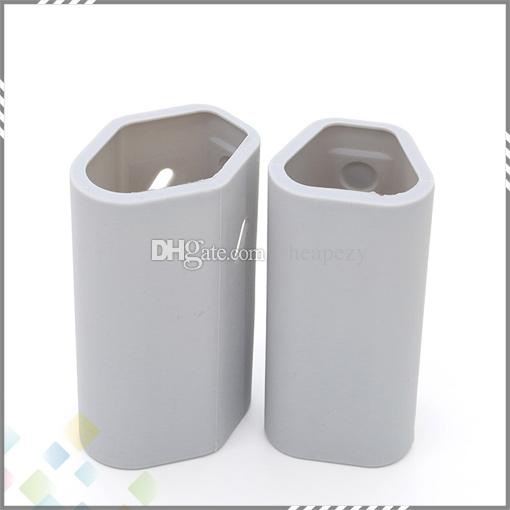 Le silicone coloré RX2 3 met en sac des sacs de silicium de peau de couverture pour Wismec Reuleaux RX2 3 mod 100% de silicone DHL de catégorie com