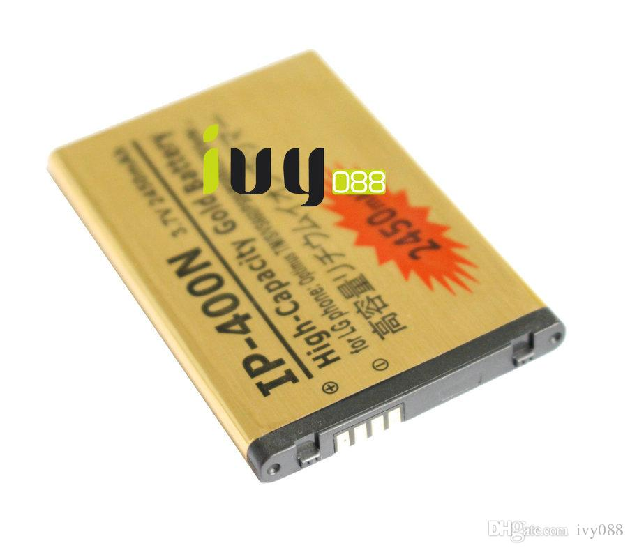 3шт/лот 2450 мАч ИС-400Н золото замена аккумулятор для LG Оптимус т/м/с VS660 MS690 LS670 P509 Vorter U9400 GT540 LW690 GX200 GX300 аккумулятор