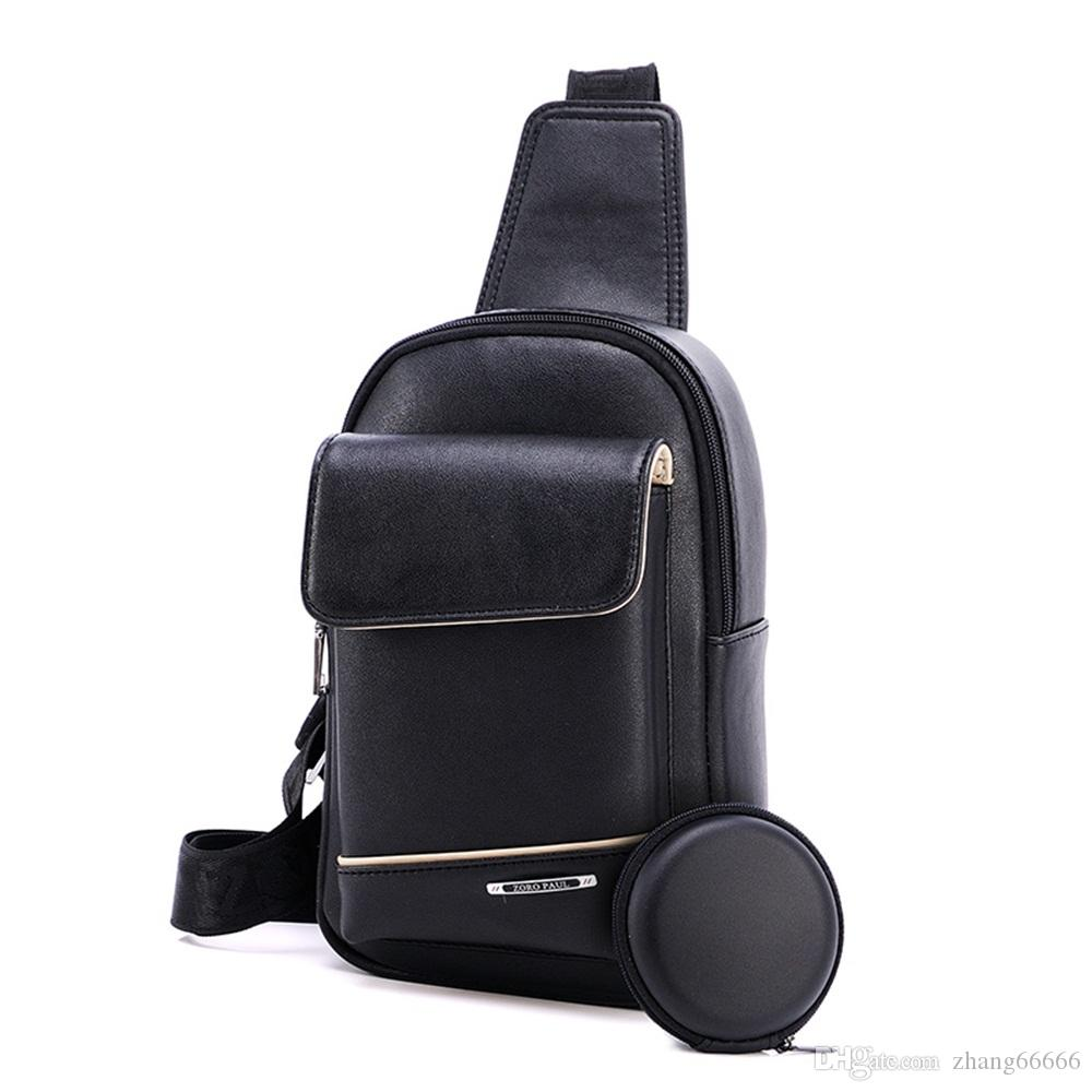 c1a399f0fb21 Small Single Strap Leather Backpack- Fenix Toulouse Handball