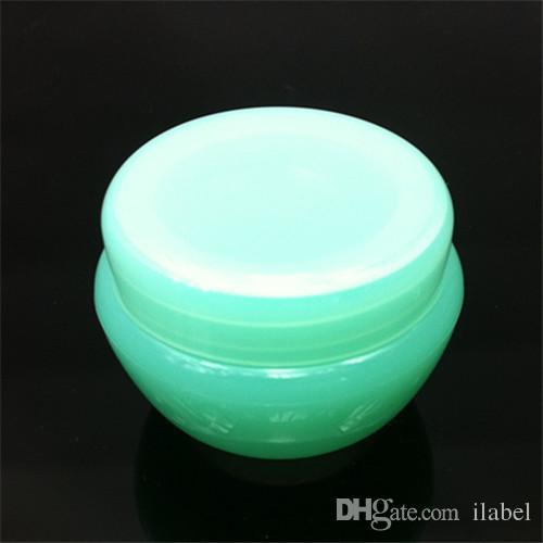 Barattolo di crema funghi contenitore di plastica vuoto imballaggio cosmetico colore mutil 5G