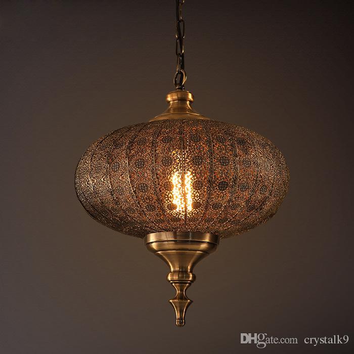 Northern Europe Vintage Dinning Room American Pendant Lamp