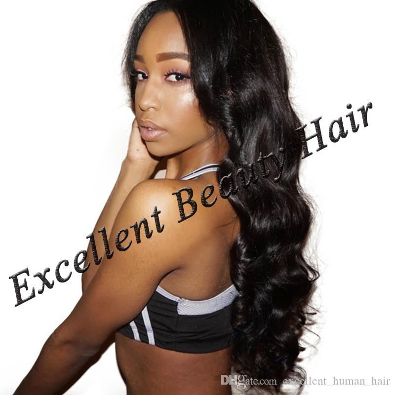 Brazilian Body Wave Full Lace Human Hair Wigs For Black Women With Baby Hair Lace Front Wig Non Remy