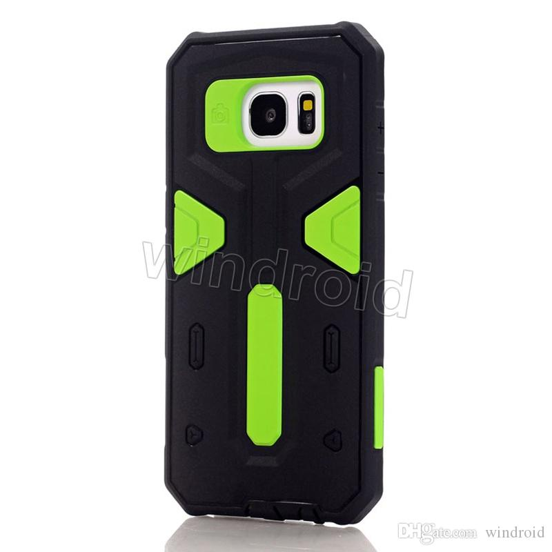 Carapace Warrior Cell Phone Back Cases Fashion Design Phone Case Covers shock proof for iphone 6 6s plus Samsung galaxy S7 S6 edge Colors 50