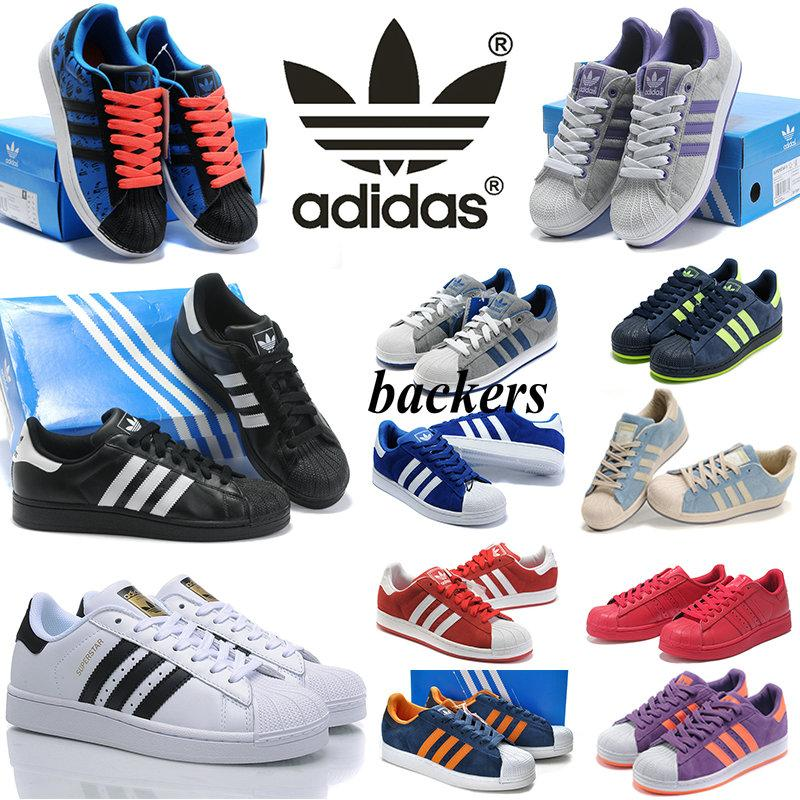 cheap for discount ff64f ea01e Adidas Superstar Shoes All Colors