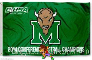 Marshall Bandiera Conferenza Champs Bandiera 3ft x 5ft poliestere Banner Flying150 * 90cm su misura di sport della bandiera