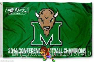 Marshall Flag Conference Champs Flag 3ft x 5ft Polyester Banner Flying150* 90cm Custom flag sport