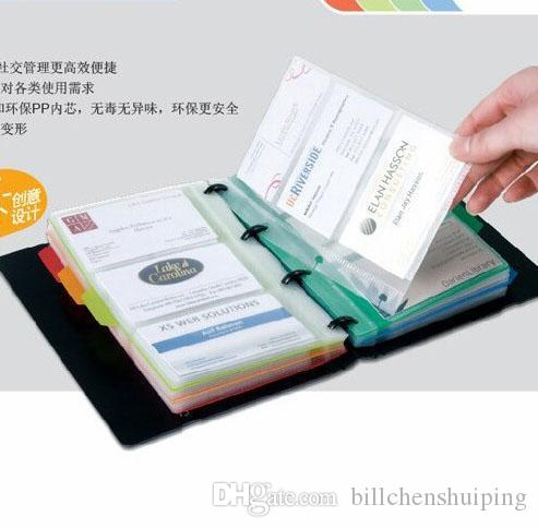 Business card files holders notebook can put a 120 card business see larger image colourmoves