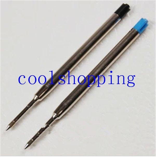 Parker-Stil Blaue mittlere Kugelschreibermine