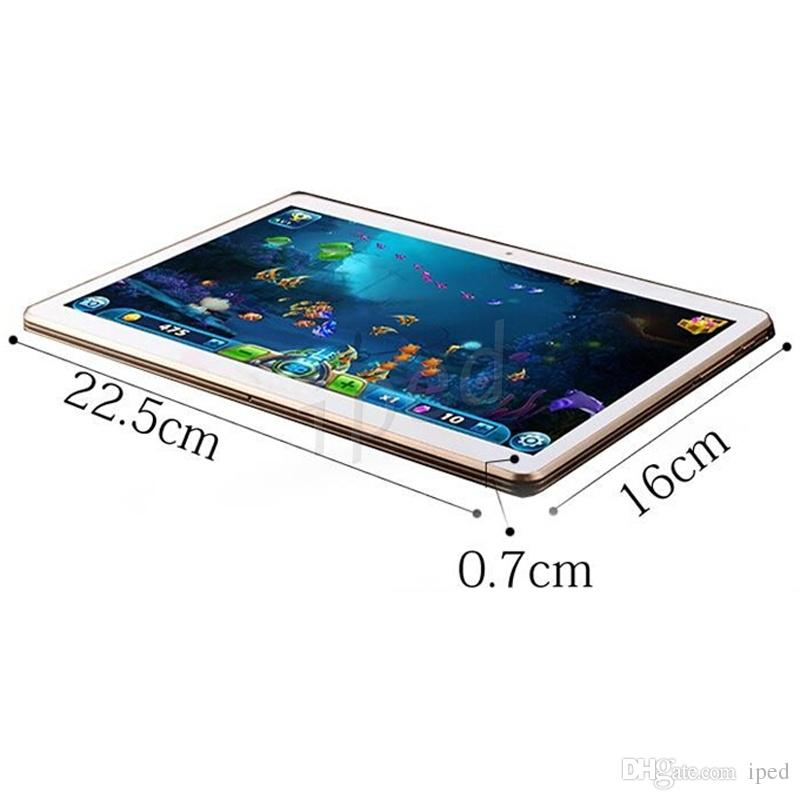 9.6 Inch IPS 1280*800 3G Tablet PC MTK6580 Quad Core Android 5.1 1GB 16GB show 4GB 32GB 5MP Camera 10 inch phablet K960 T950s Cheapest 20