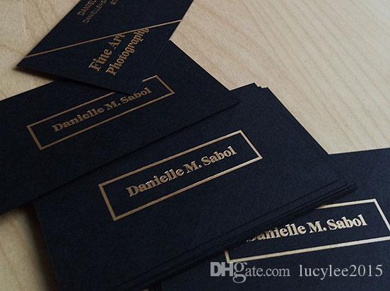 2018 free design personalized black visit card with golden stamping 2018 free design personalized black visit card with golden stamping glitter luxury business cards printed from lucylee2015 5227 dhgate colourmoves