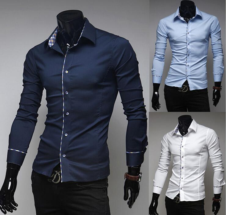 2017 New Nice Italian Dress Shirts MenvS Blouses Long Sleeve Shirt ...