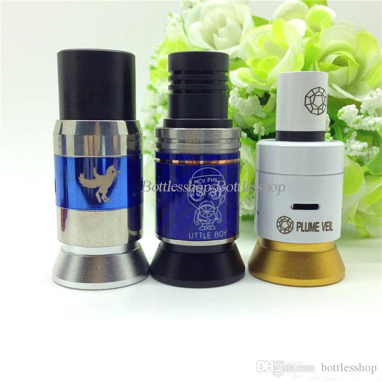 In Stock Metal Holder Clearomizer Base Atomizer Stand display for plume veil 510 Clearomizer rda stands BY DHL Free
