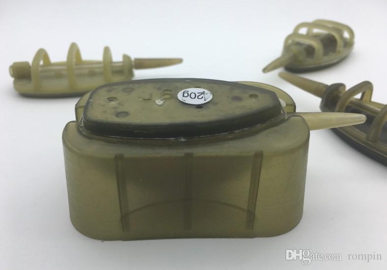 Rompin карп рыболовный инструмент для кормления 15/20/25 / 30g Буксировочный комплект Carp Fishing Lead Sinker Приманки для приманки